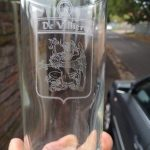 De Villiers - glass engraved