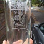 De Villiers - glass engraved