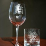 wine glass crests